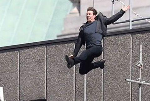 Detienen rodaje de 'Mission: Imposible 6' por fractura de Tom Cruise - Captura de pantalla