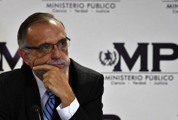 Crisis en Guatemala por expulsión de Iván Velásquez - Foto de BBC