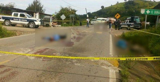 Jornada violenta deja seis muertos en Guerrero