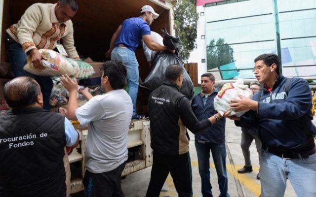 Aduanas han recibido 336 donaciones para afectados por sismos: SAT - Foto de internet.
