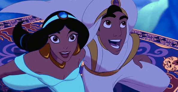 Comparten primer selfie en el set de 'Aladdín'