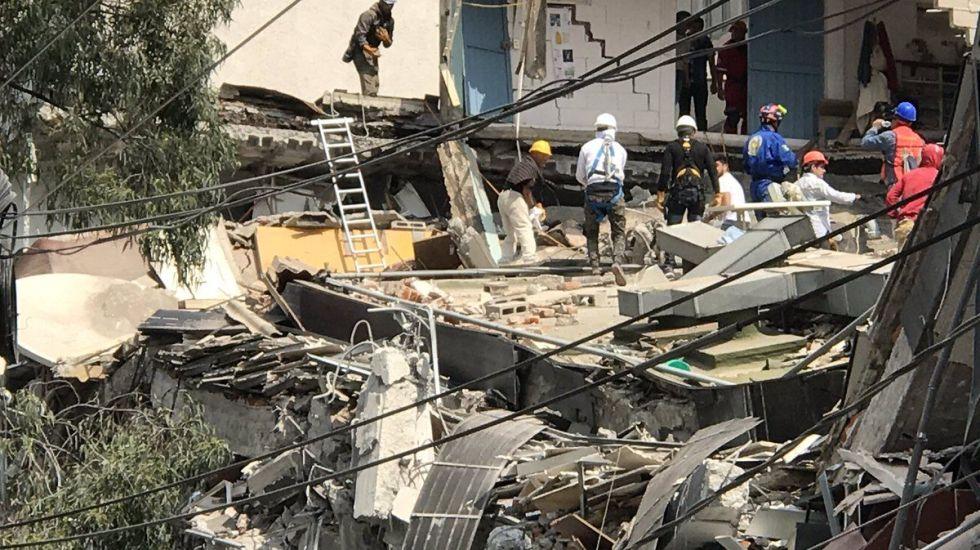 Crearán memorial por sismo en Álvaro Obregón 286 - Foto de Twitter