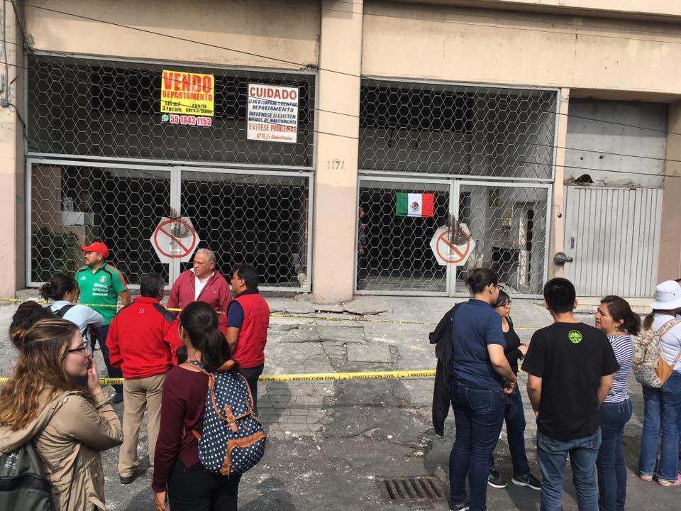 Temen rapiña en edificios dañados por el sismo