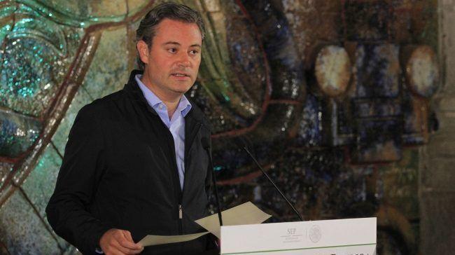 AMLO prefiere aliarse con Gordillo al futuro de los niños: Nuño - Aurelio Nuño. Foto de Notimex