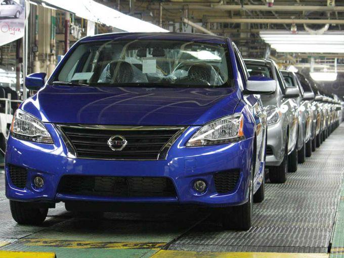 Baja venta de automóviles en México