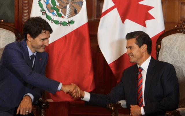 TLC deberá ser benéfico para las tres partes: EPN y Trudeau