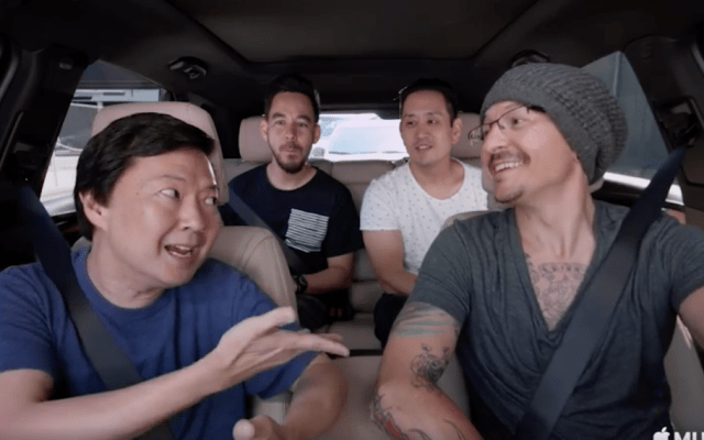 Linkin Park comparte episodio de Carpool Karaoke con Chester Bennington - Captura de pantalla