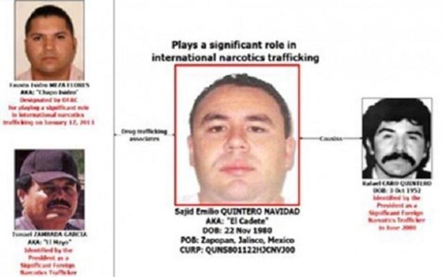 Detienen en California a primo de Caro Quintero - Foto de Treasury.gov