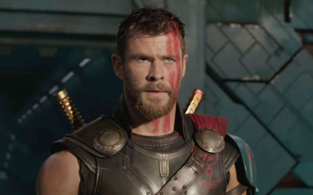 Me sentía cansado de interpretar a Thor: Chris Hemsworth - Chris Hemsworth en Thor:Ragnarok. Foto de Walt Disney Pictures