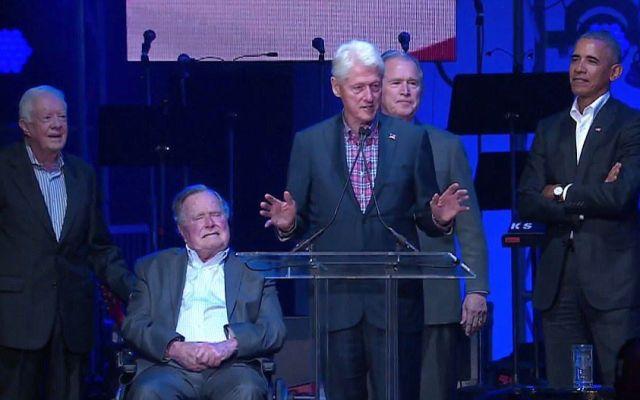 Se reúnen ex presidentes de EE.UU. para pedir unidad - Foto de internet