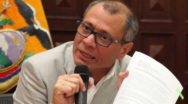 Trasladan a prisión a vicepresidente de Ecuador - Foto de El Comercio