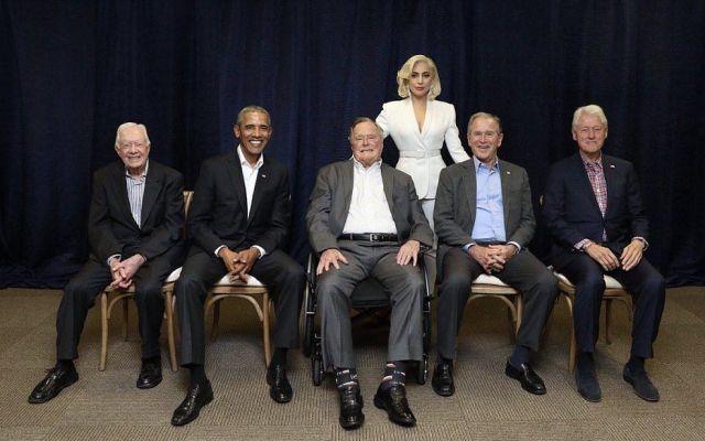 #Viral Foto de Lady Gaga con ex presidentes de EE.UU. - Foto de @ladygaga
