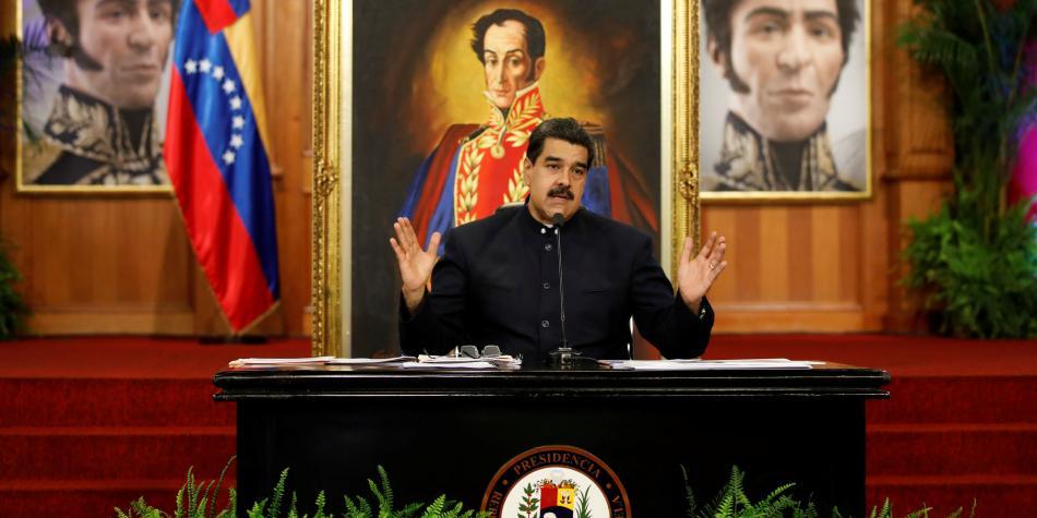 Maduro convoca jornada de ejercicios militares - Foto de Reuters