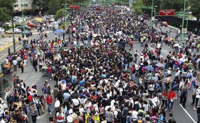 Cuatro manifestaciones afectarán la Ciudad de México