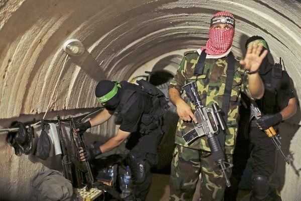 Descubren túnel debajo de escuela de la ONU en Gaza