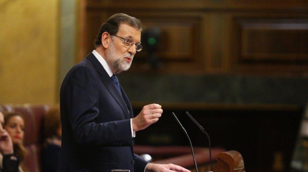 Rajoy llama a Cataluña a no votar por separatistas - Mariano Rajoy. Foto de @marianorajoy