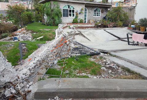 Santa María Nativitas continúa desatendida tras sismo