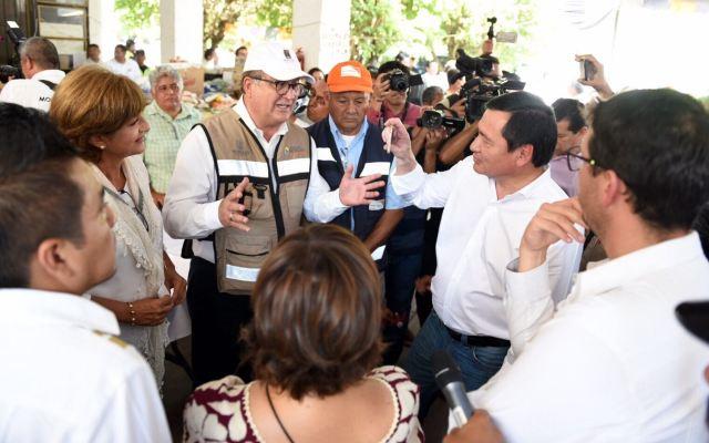 Reconstrucción en Morelos será en unidad: Graco Ramírez