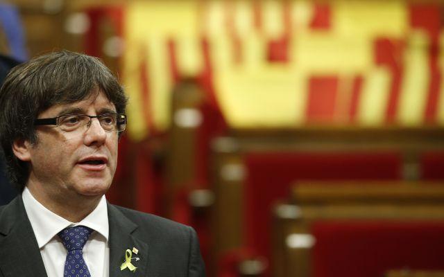 Puigdemont ataca a líderes europeos por apoyar al gobierno español - Foto de Ap