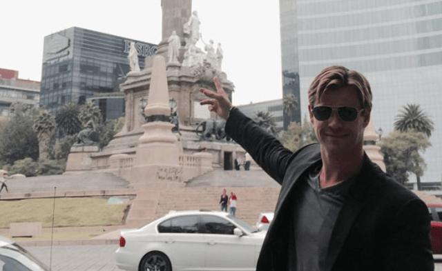 Chris Hemsworth visitará la Ciudad de México para apoyar reconstrucción - Foto de internet