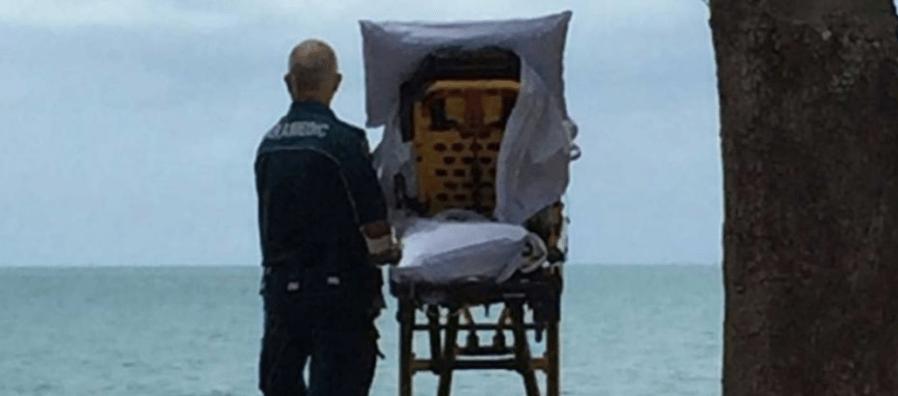 #Viral Paramédicos cumplen último deseo de paciente