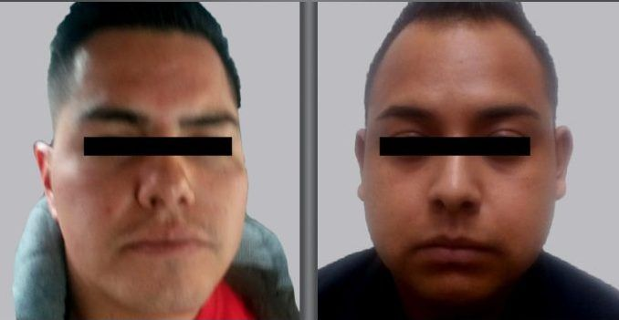 Detienen a dos policías por asaltar en Naucalpan - Foto de Fiscalía del Estado de México