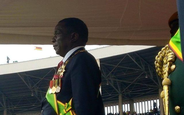 Emmerson Mnangagwa jura como nuevo presidente de Zimbabue - Foto de internet