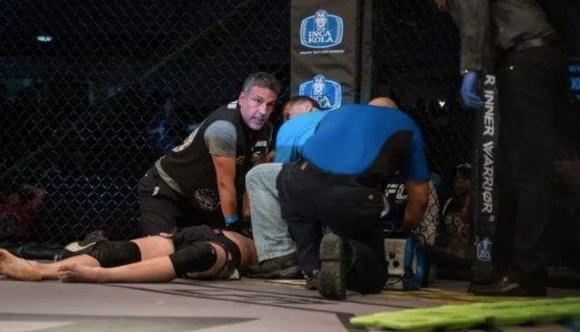 Luchador de MMA sufre paro cardiaco durante pelea