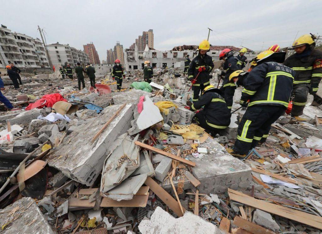 Explosión en puerto de China deja dos muertos y 30 heridos - Foto de Internet