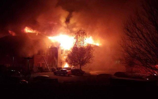 Incendio en residencia de ancianos deja 20 heridos en EE.UU. - Foto de @11AliveNews