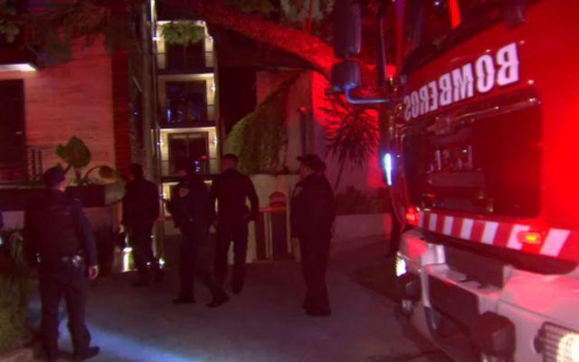 Conato de incendio en Lomas de Chapultepec - Foto de Noticieros Televisa