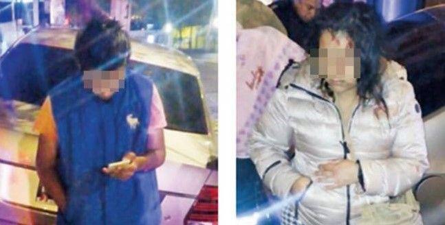 Choca con su esposa e hijos tras robar afuera de 7-Eleven