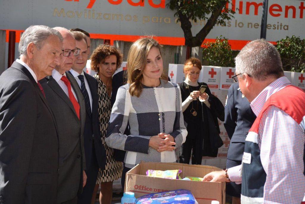 Reina Letizia visita la Cruz Roja Mexicana - Foto de Cruz Roja Mexicana