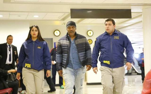 #VIDEO deportan a Mike Tyson de Chile por antecedentes penales