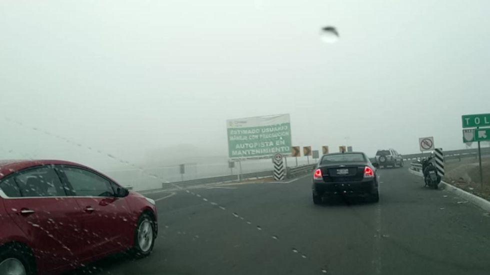 Neblina en Carretera México-Cuernavaca y Circuito Exterior Mexiquense - Foto de internet