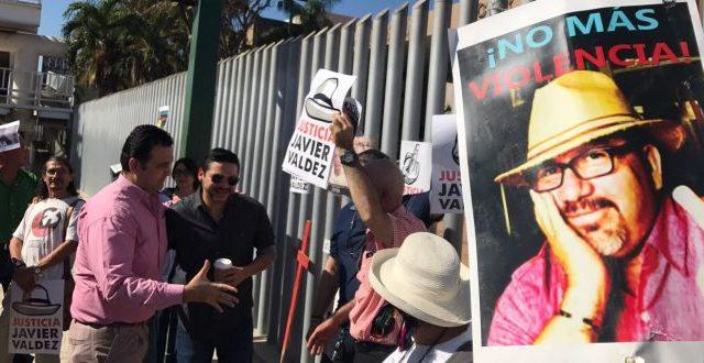 Exigen justicia a 6 meses del homicidio de Javier Valdez