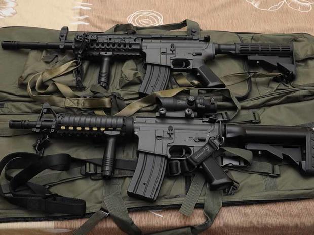 Investigan vehículos abandonados con rifles de asalto en Tamaulipas - Foto de Periódico Correo