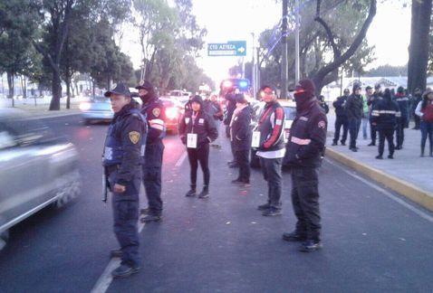 Despliegan operativo en Tlalpan para evitar regreso de microsbuses - Foto de Milenio