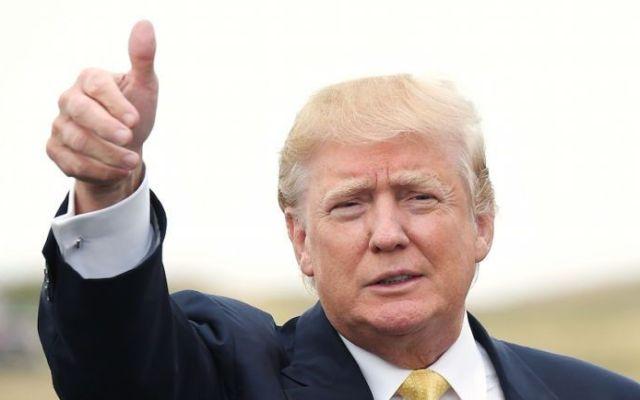 #Video Trump se cuela a fiesta en Mar-a-Lago otra vez