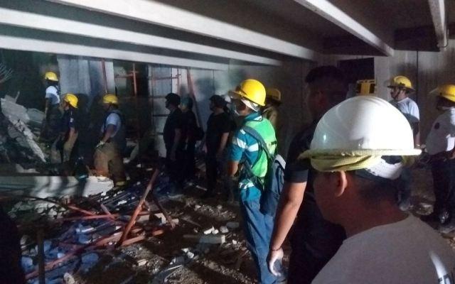 Derrumbe en Mérida deja cuatro muertos - Foto de @enlacevirtualmx
