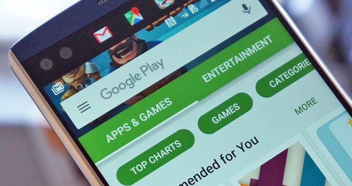 Las cinco aplicaciones más descargadas de Google Play