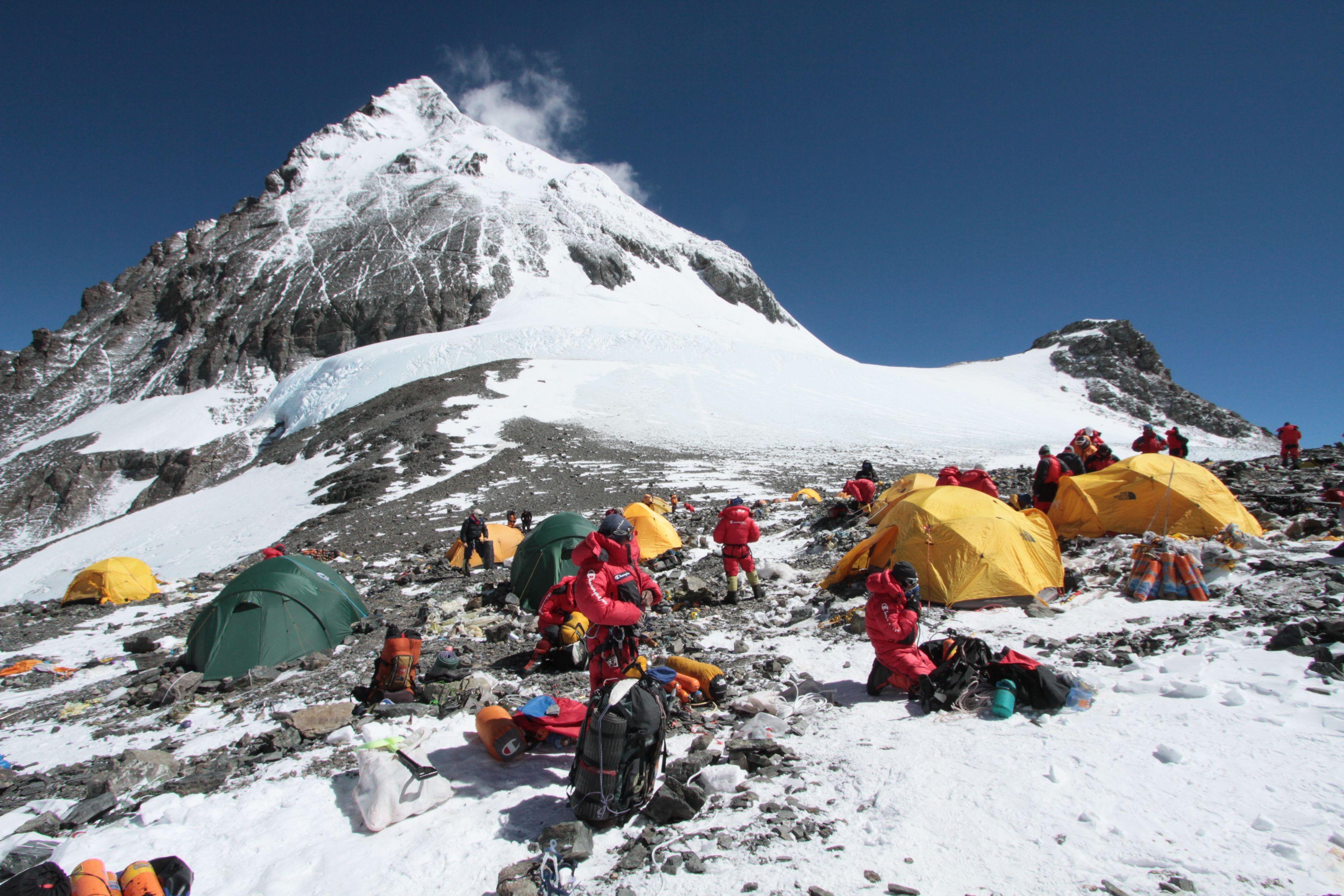 Excursión en el Everest. Foto de Climbing on Purpose