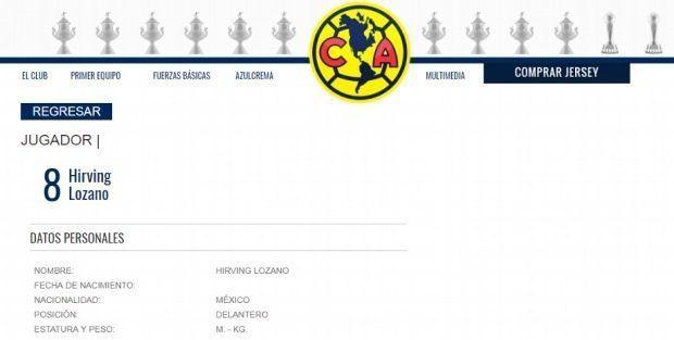 Hackean sitio web del América - Captura de pantalla
