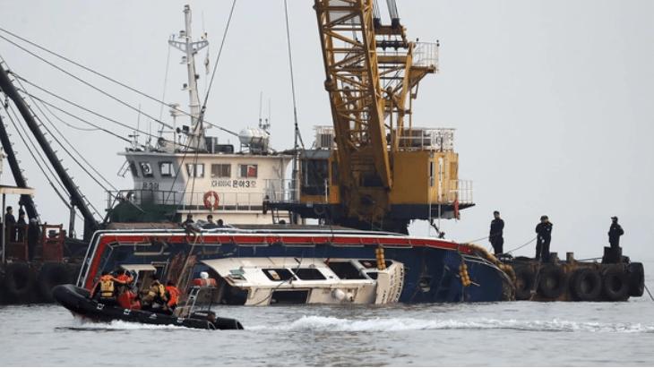 Choque de barcos en Corea del Sur deja 13 muertos - Foto de REUTERS
