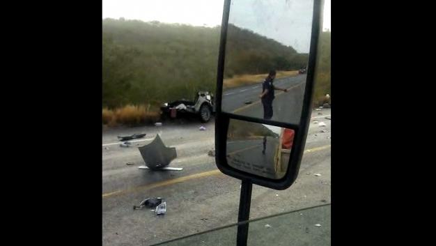 Choque en Tamaulipas deja seis muertos - Foto de Multimedios