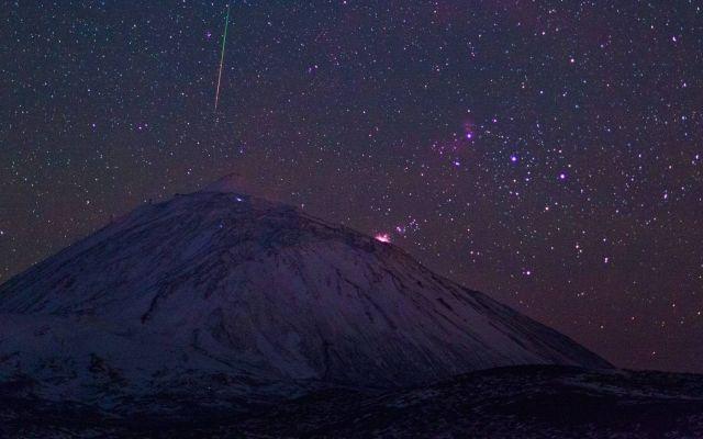 Esta noche habrá lluvia de estrellas Gemínidas