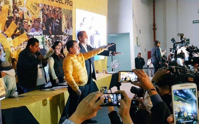 Manuel Granados nuevo líder nacional del PRD