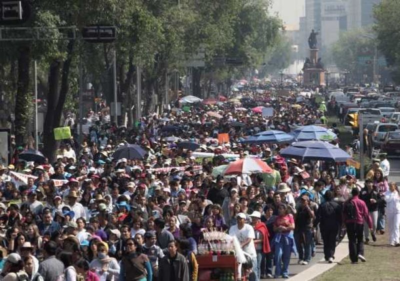Al menos una marcha afectará la vialidad en la Ciudad de México - Foto de Internet
