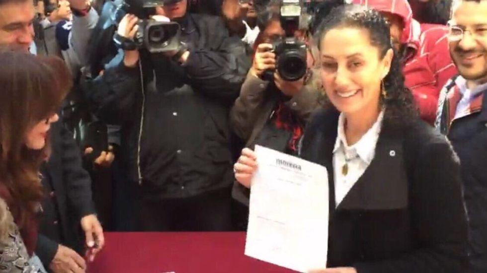Claudia Sheinbaum, precandidata de Morena a la Ciudad de México - Foto de Internet