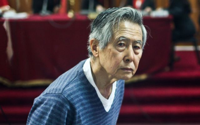 Procesarán a Alberto Fujimori por Caso Pativilca - Alberto Fujimori. Foto de internet